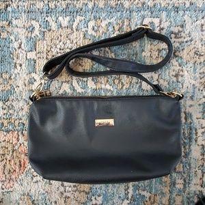 BCBG Paris Leather Cross Body Bag